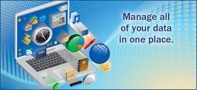 Centralize Data Management.